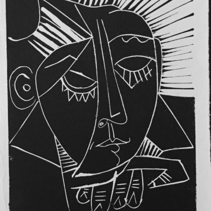 Sleeping Woman after Picasso